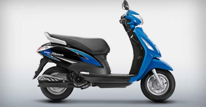 suzuki swish 125cc scooter receives cosmetic updates ndtv carandbike. Black Bedroom Furniture Sets. Home Design Ideas