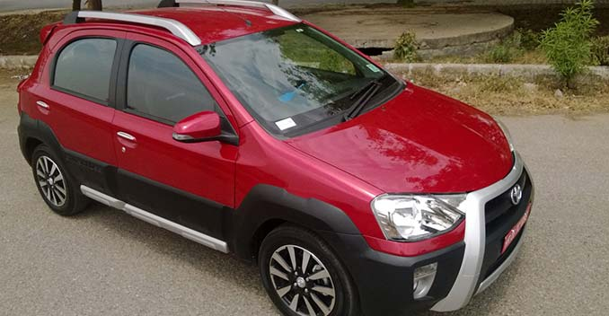 New Toyota Etios Cross Launched at Rs 5.76 Lakh