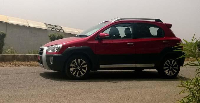 Toyota Etios Cross review
