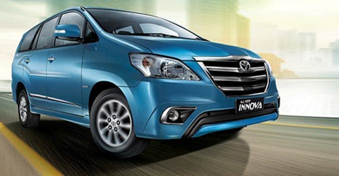 Updated Toyota Innova, Fortuner 4x4 Automatic Launched in India