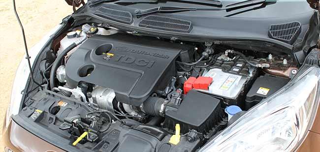 2014 Ford Fiesta Engine