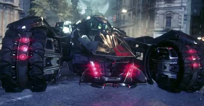 New Batmobile Teased Before the Launch of Batman: Arkham Knight