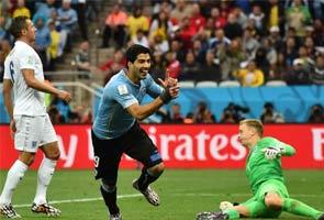 फीफा वर्ल्डकप : सुआरेज के दो गोल से इंग्लैंड बाहर होने की कगार पर
