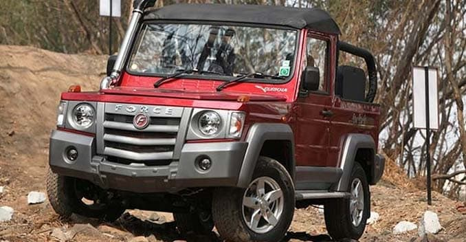 Force Gurkha SUV All Set to Go On Sale in September