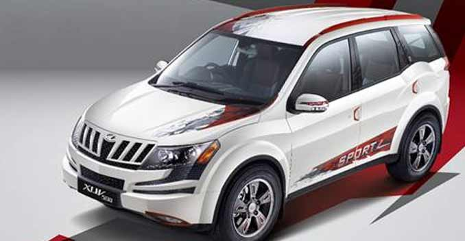mahindra amp mahindra launched the limited edition xuv500 sportz today