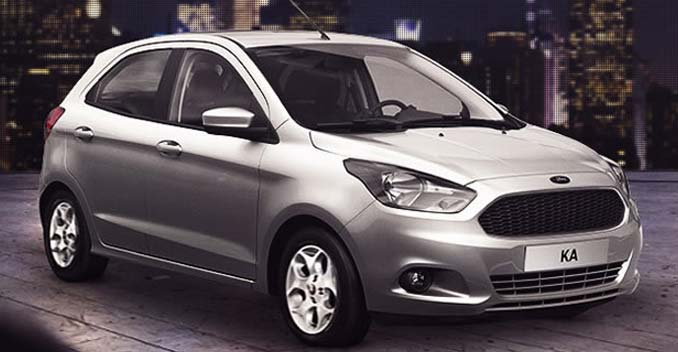 New Generation Ford Figo's Production Version Revealed