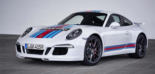 Porsche Unveils 911 S Martini Racing Edition to Celebrate Le Mans Return
