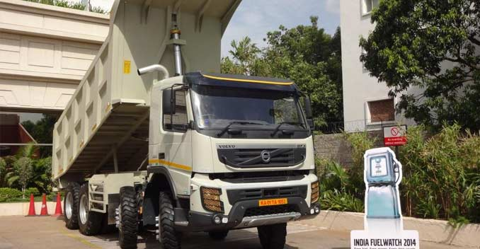 volvo trucks 2014. fuel watch volvo trucksu0027 ingenious contest to promote efficiency trucks 2014