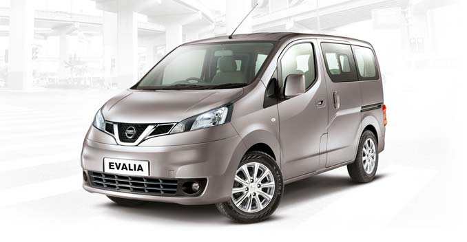 2014 Nissan Evalia Facelift Launched