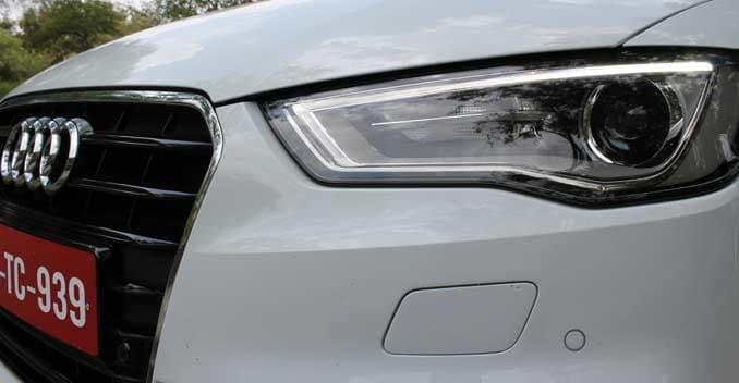 Audi A3 sedan grille