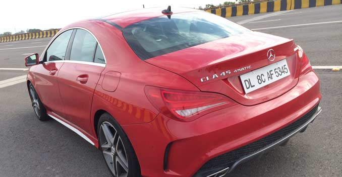 Mercedes CLA 45 AMG Review