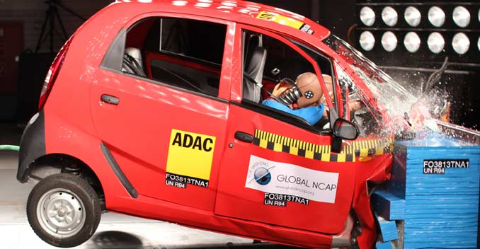 Government To Make Crash Tests Mandatory For Cars In India