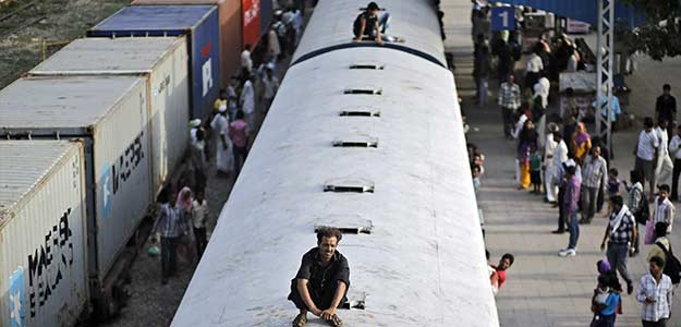Government Eyes Private Money for its Wobbly, Slow Railways