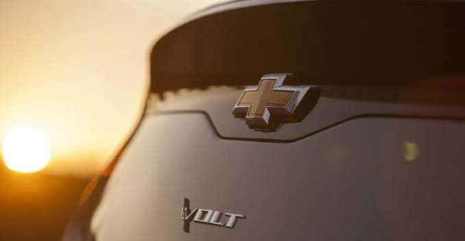 The Chevrolet Volt concept car was first unveiled at Detroit Auto Show in 2007