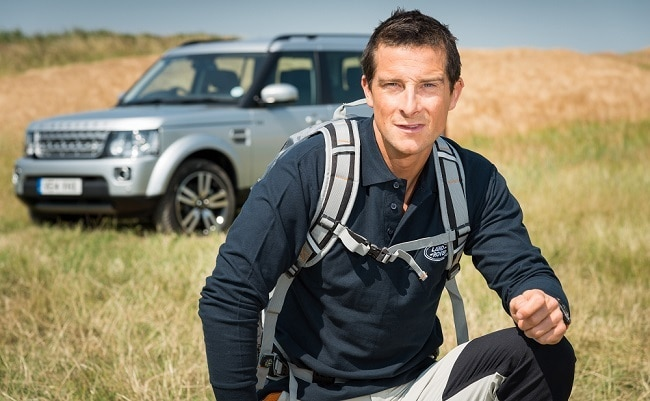 I'm very bad with cocktail parties: Bear Grylls