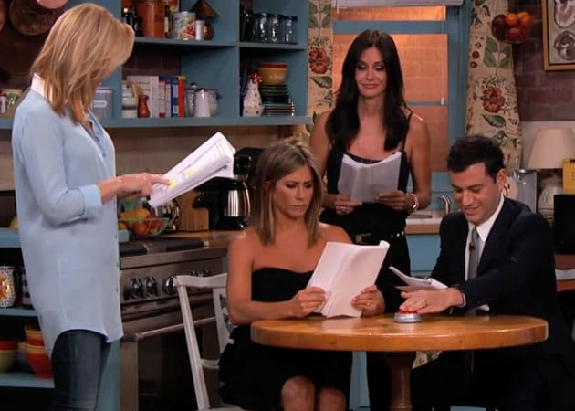 When Jimmy Kimmel Invited Some F.R.I.E.N.D.S Over