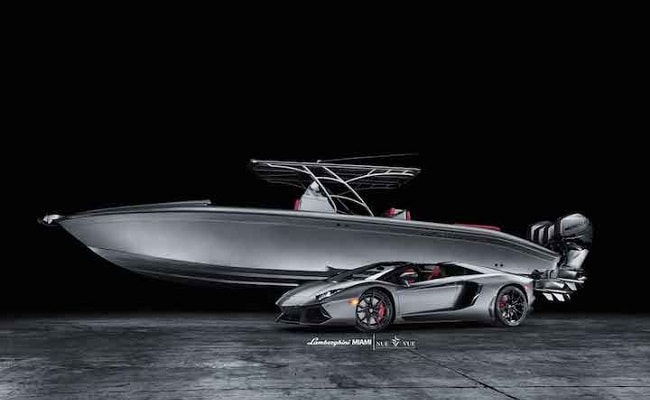 Lamborghini Aventador Amp Luxury Speedboat For 1 Million
