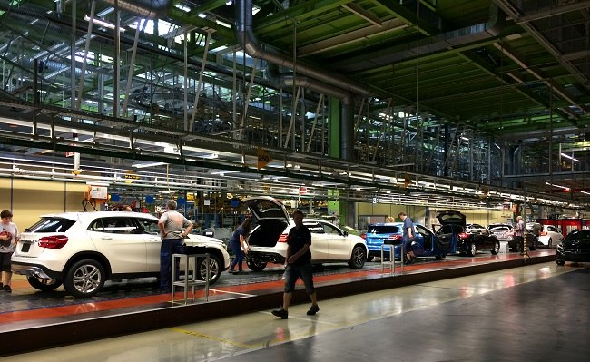 Mercedes-Benz GLA-Class production facility