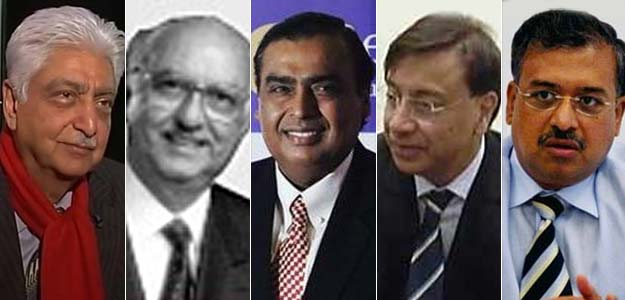 Top 5 Richest Indians Have Half of Nation's Billionaire Wealth: Report
