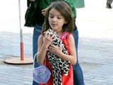 Suri Cruise Reunited With Lost Dog