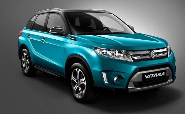 new car launches maruti suzukiSuzuki Vitara Compact SUV Revealed Will it Come to India  NDTV