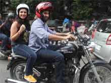 <i>Daawat</i> on Wheels: Aditya Roy Kapur, Parineeti Chopra and a <i>Game of</i> Bikes