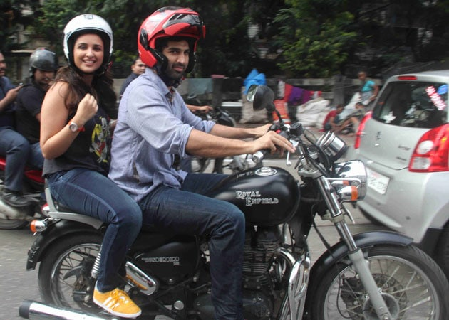 Daawat on Wheels: Aditya Roy Kapur, Parineeti Chopra and a Game of Bikes