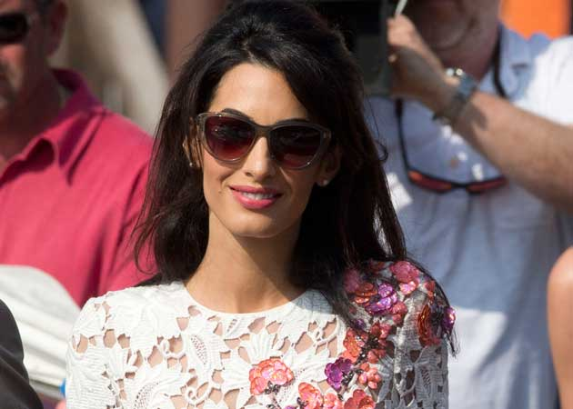 Amal Alamuddin: Accomplished, Admired. And Not Because She's Mrs Clooney