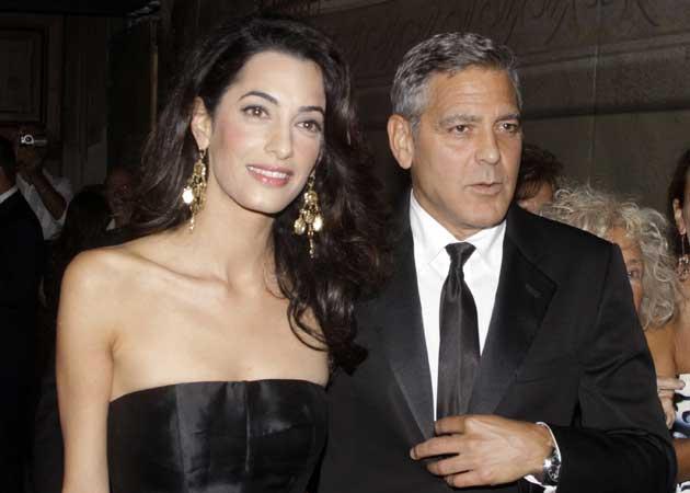 George Clooney and Amal Alamuddin's Red Carpet Romance