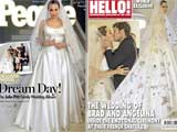 First Pictures: Angelina Jolie's Wedding Dress Had Her Children's Drawings on it