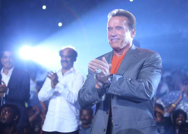 Arnold Schwarzenegger to Shankar: Came From Hollywood for Job Interview With You