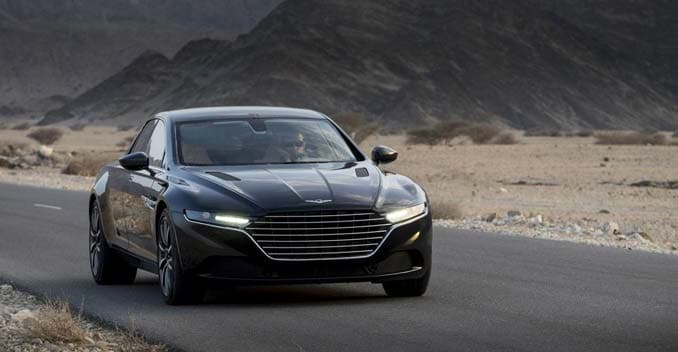 Aston Martin Lagonda Interiors Revealed