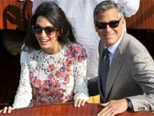 Clooneys, Travelling With Twins, Hand Out Headphones To Co-Passengers