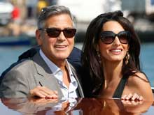 George Clooney, Amal Alamuddin Married in Venice