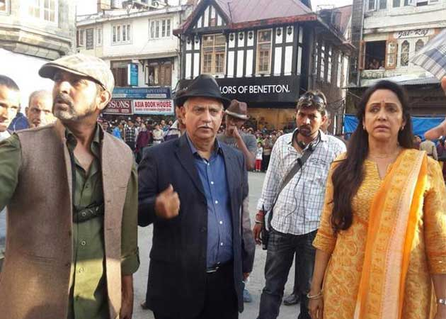 Hema Malini Begins Shooting For Ramesh Sippy's Shimla Mirchi