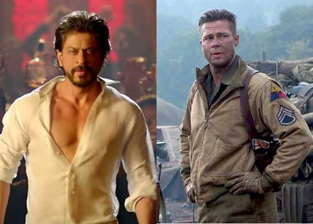 Brad Pitt Won't Mess With Shah Rukh Khan: Fury India Release Only After Happy New Year
