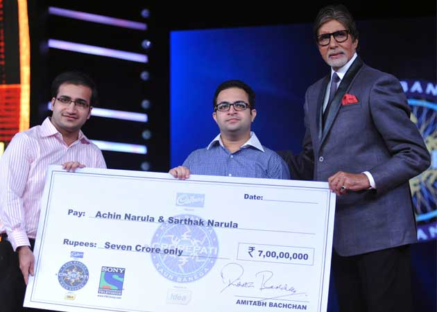 Delhi Brothers Become First to Win Rs Seven Crore on KBC 8