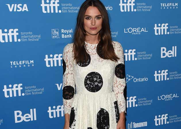 Keira Knightley Rocks 101 Dalmatians Look at Toronto International Film Festival