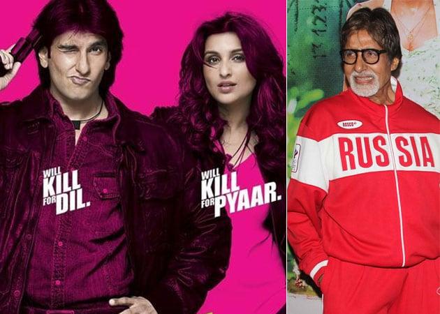 Amitabh Bachchan Praises Kill Dil Trailer