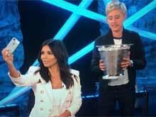 Kim Kardashian Finally Keeps Up With the Ice Bucket Challenge on Ellen