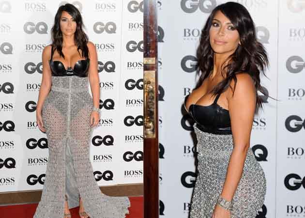 Kim Kardashian's GQ Dress Was Chopped to Reveal More of Her