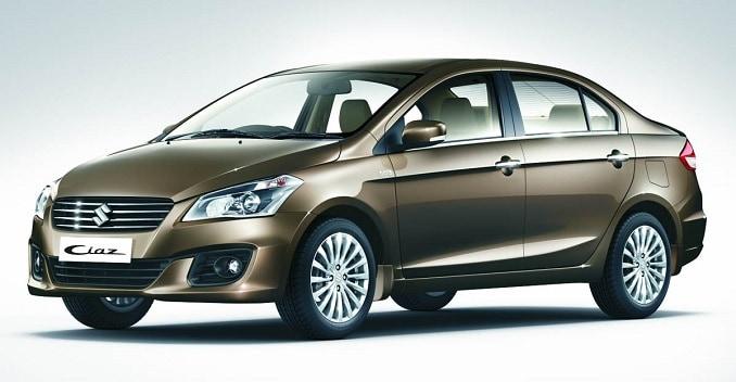 Maruti Suzuki Ciaz Variants & Features Revealed