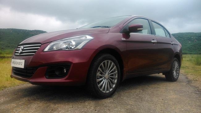Maruti Suzuki Ciaz front-side view