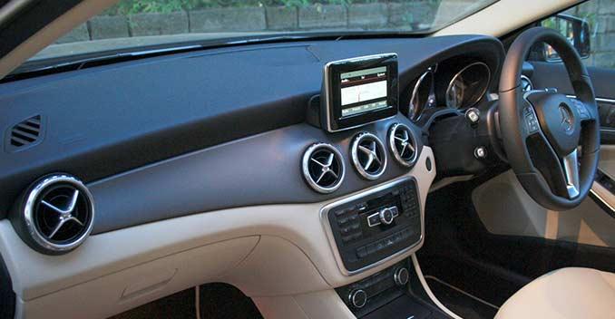Mercedes benz gla class review ndtv carandbike for Mercedes benz gla class interior