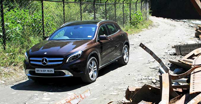 Mercedes gla class suv launched prices start at rs for Mercedes benz gla india