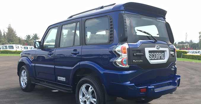 2014 Mahindra Scorpio Facelift