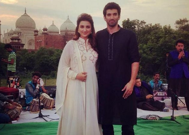 Parineeti Chopra, Aditya Roy Kapur and a Musical Daawat