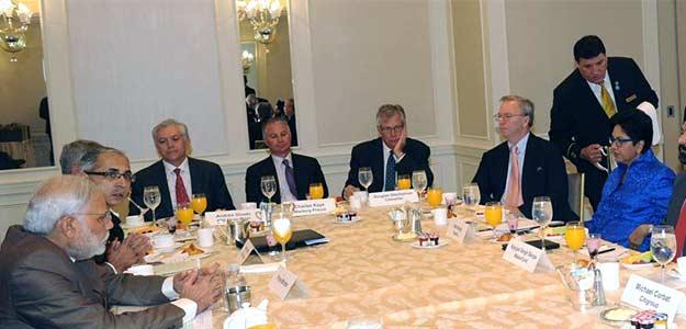 PM Modi's US Breakfast Meet: American Corporates Keen on India Opportunities