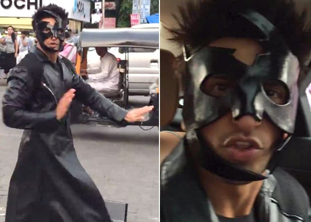 Ranveer Singh's Bang Bang Reply to Hrithik, Krrish Style