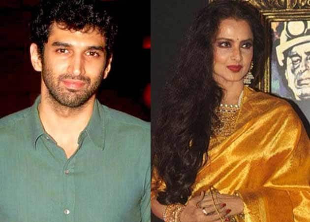 Aditya Roy Kapur: Glad to Get 'Once-in-a-Lifetime' Opportunity to Work With Rekha